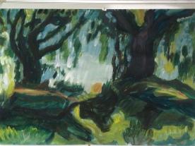 Gabriëlla Cleuren , 50 x 70 cm, acryl sur toile