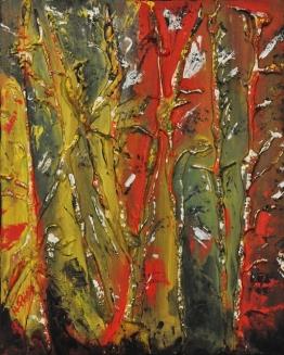 """""""Forest"""" Acrylic on canvas 50 x 40 cm"""