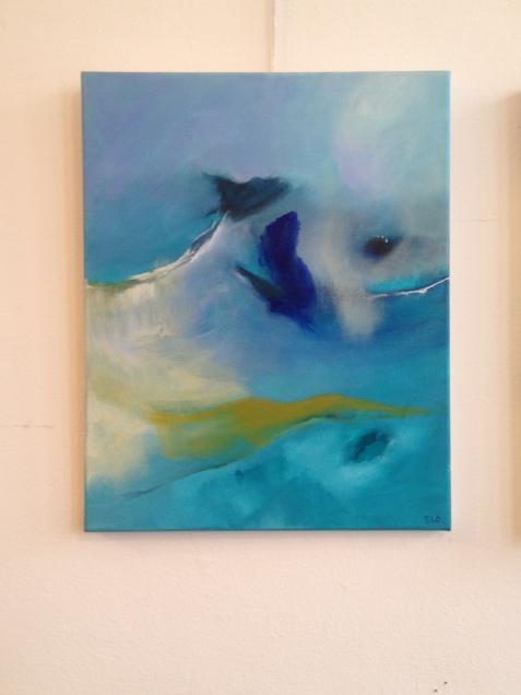 »Rêverie », 2017, 50 x 40 cm, acrylic on canvas