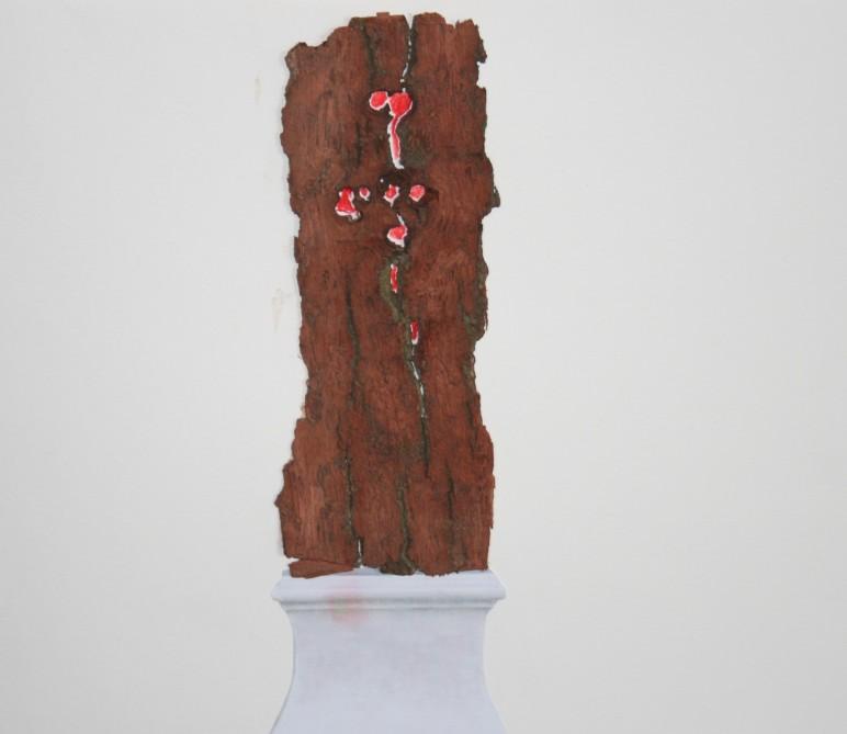 """Denkmal Baum!"", Collage Ute Wiegand"